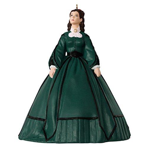 Hallmark Keepsake Christmas Ornament 2018 Year Dated, Gone With the Wind Scarlett's Christmas Dress