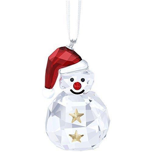 Swarovski 2015 Rocking Snowman Ornament by Swarovski