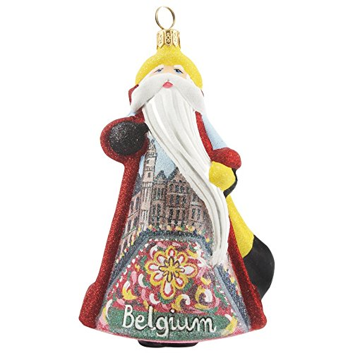 Joy To The World Glitterazzi Inernational Belgium Santa