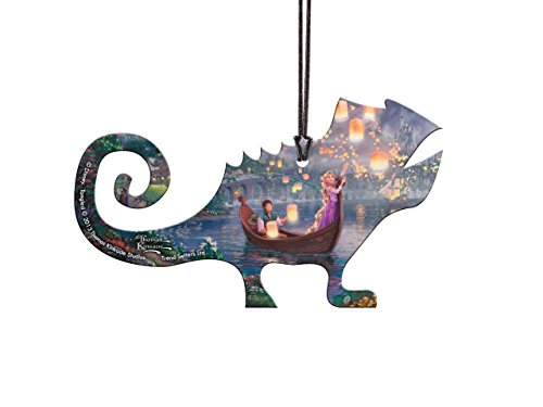 Trend Setters Disney Tangled Pascal Shaped Hanging Acrylic – Thomas Kinkade Art
