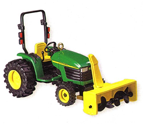 Carlton Heirloom John Deere 4310 Snowblower Tractor Ornament #CXOR-093R