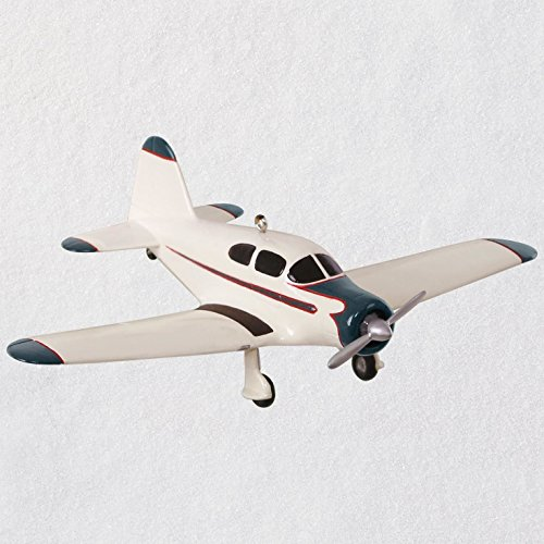 Hallmark Christmas Ornament Keepsake 2018 Year Dated, Sky's the Limit Harlow Pjc-2, Airplane