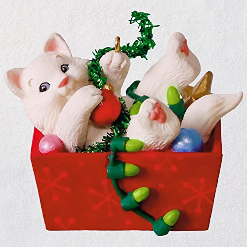 Hallmark Mischievous Kittens Ornament keepsake-ornaments Pets