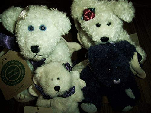 Plush Collectibles 2 BOYDS BEARS & FRIENDS ARCHIVE Plush Ornaments Galaxy & Flit Angelwish ++2!