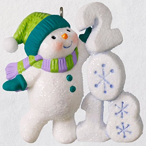 Hallmark Frosty Fun Decade 2018 Ornament keepsake-ornaments Snowmen