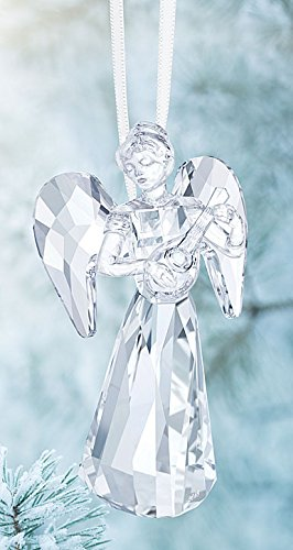 Swarovski Angel Ornament, a. E. 2018 E, Clear Crystal