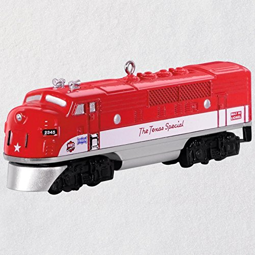 Hallmark Christmas Ornament Keepsake 2018 Year Dated, Lionel Trains 2245P Texas Special Locomotive, Metal, Lionel Special Locomotive Train