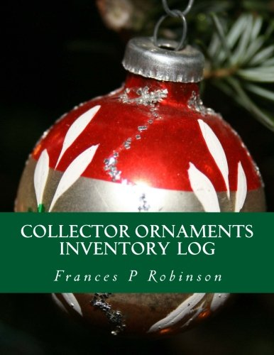 Collector Ornaments Inventory Log: Keep track of your collectible Christmas Ornaments in the Collector Ornaments Inventory Log. Save up to 1000 items in one convenient book.