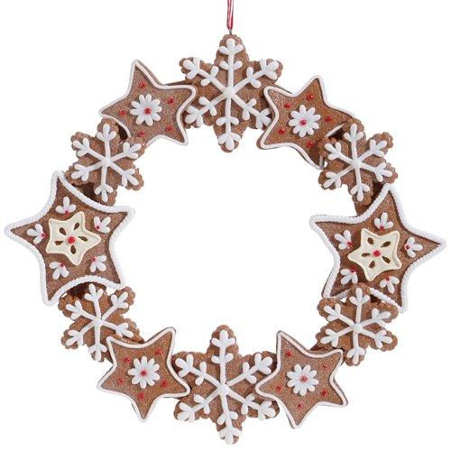 Gingerbread Wreath Ornament
