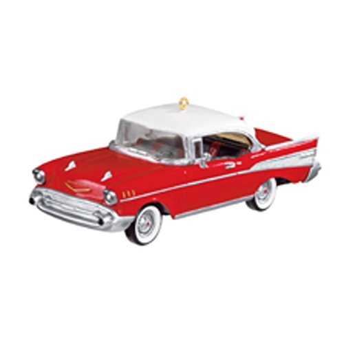 Carlton Heirloom '57 Chevy Bel-Air Classic Car Christmas Ornament #CXOR-128R