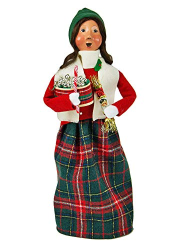 Byers Choice Woman Selling Christmas Ornaments – New for Christmas 2018