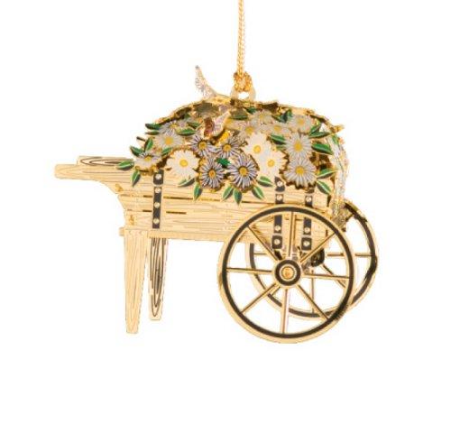 Baldwin Flower Cart Ornament
