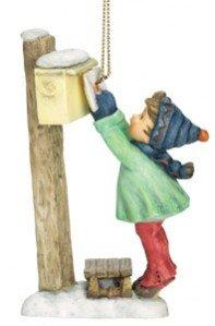 M.I. Hummel Christmas Ornament – Letter To Santa