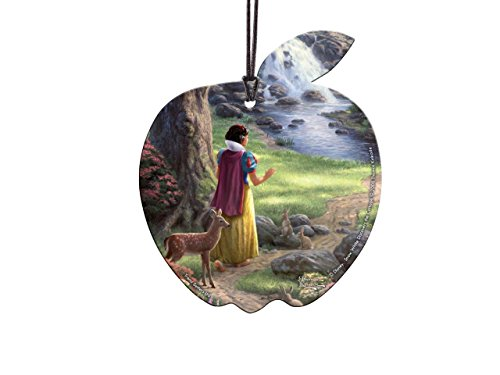 Trend Setters Disney Snow White Apple Shaped Hanging Acrylic – Thomas Kinkade Art