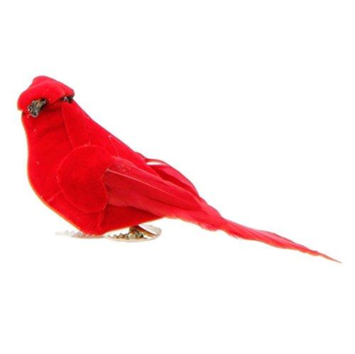 RAZ 4.5″ Red Clip On Cardinal Christmas Ornament