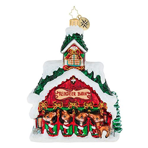 Christopher Radko Goodnight Donner, Goodnight Blitzen! Christmas Ornament