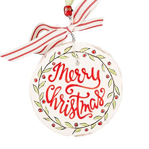 Glory Haus Merry Christmas Flat Ornament