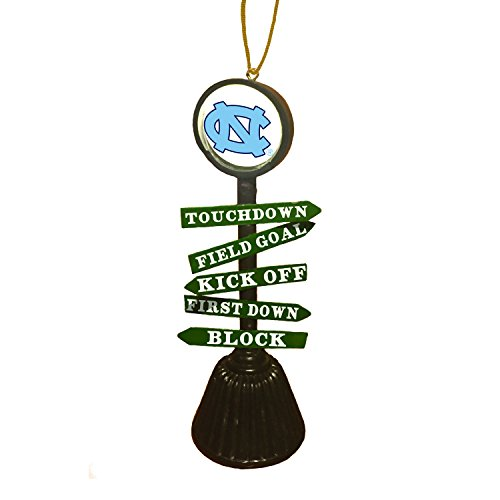 Team Sports America University of North Carolina Fan Crossing Ornament