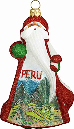 Joy To The World Glitterazzi International Peru Santa