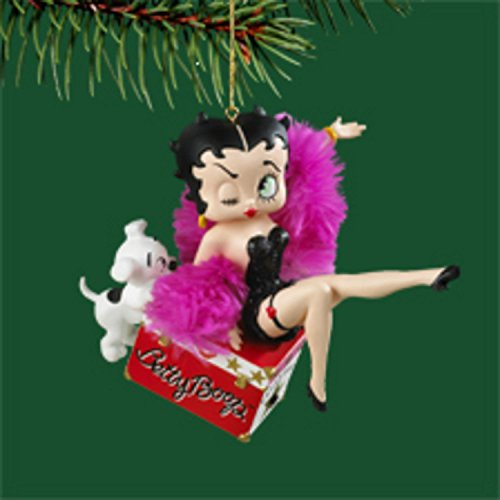 "Carlton Heirloom Collection Betty ""Boop-Oop-a-Doop"" Christmas Ornament #3740428"