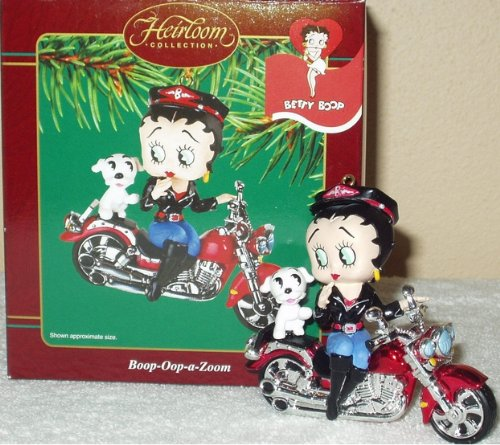 Carlton Heirloom Ornament Betty Boop 'Boop-Oop-a-Zoom' – 2003