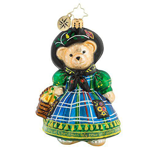 Christopher Radko Little Peddler Muffy Christmas Ornament