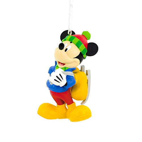 Hallmark Disney Mickey Mouse Skating Christmas Ornament