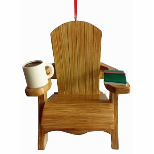 Kurt Adler 4.35″ Resin Adirondack Chair Ornament