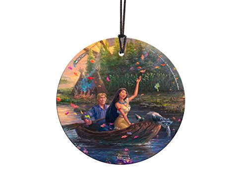 Trend Setters Pocahontas – Disney and Thomas Kinkade Studios – Suncatcher Hanging Glass Collectible – by Ltd