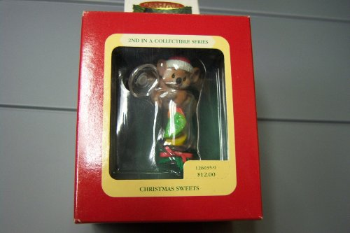 Heirloom Collection Christmas Sweets Ornament 2nd in Series By Carlton Cards