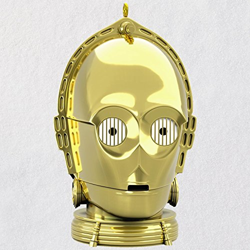 Hallmark Star Wars C-3PO Ornament With Light and Sound keepsake-ornaments Sci-Fi,Movies & TV