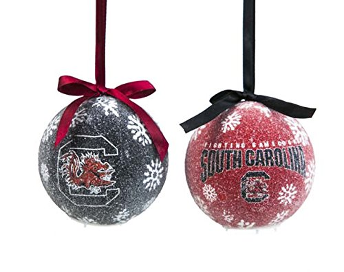 Evergreen South Carolina Gamecocks Ornament LED Box Set