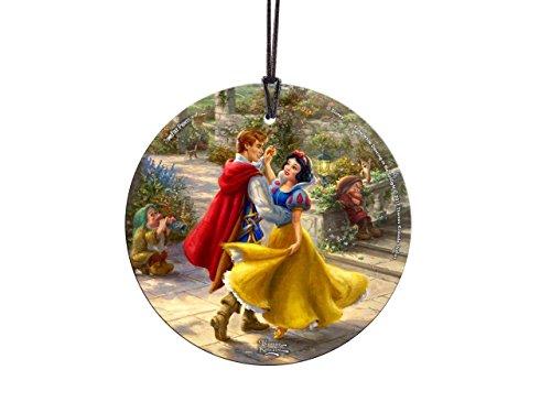 Disney- Snow White – Thomas Kinkade – StarFire Prints Hanging Glass Collectible – Suncatcher gift décor