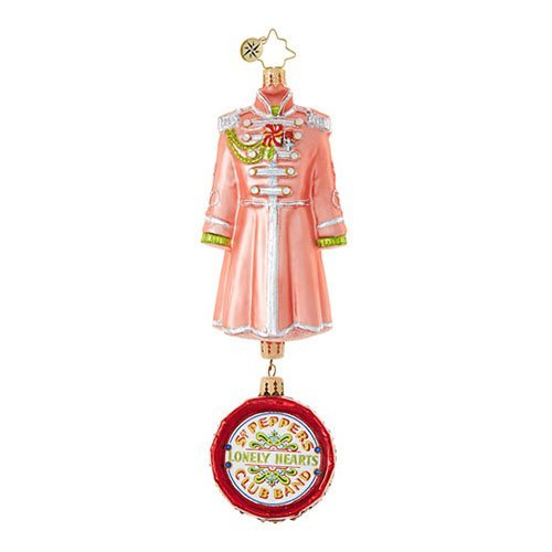 Christopher Radko George Harrison's Sgt. Pepper's Coat The Beatles Christmas Ornament
