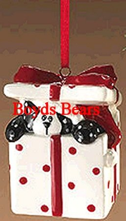 "Boyds Bears Here Kitty Cat ""Peeking Kitty"" Christmas Ornament #810330 – Retired"