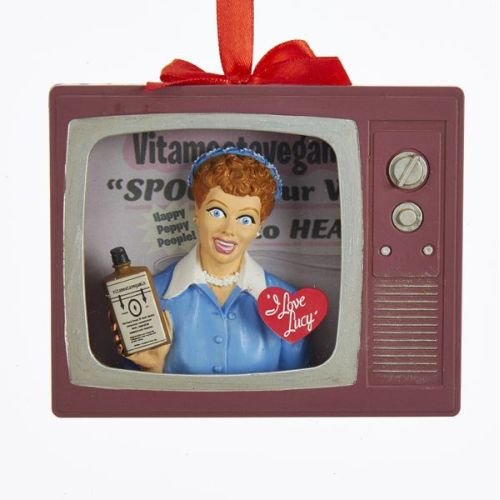 Kurt Adler 4.125″ Lucy Vitameatavegamin TV Ornament
