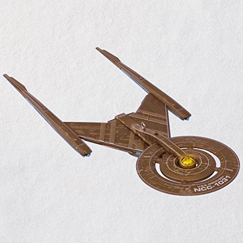 Hallmark Star Trek: Discovery U.S.S. Discovery Ornament With Light keepsake-ornaments Sci-Fi,Movies & TV