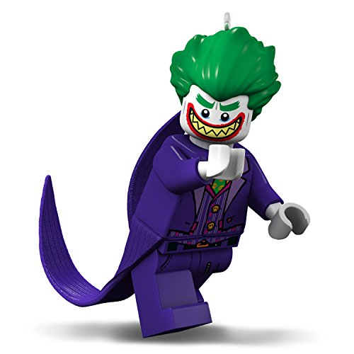 Hallmark Keepsake Christmas Ornament 2018 Year Dated, The Lego Batman Movie The Joker