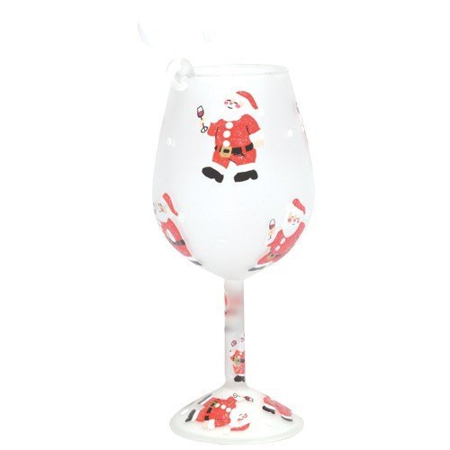 Santa Barbara Design Studio Lolita Holiday Mini-Wine Ornament, Santa's Party by Santa Barbara Design Studio