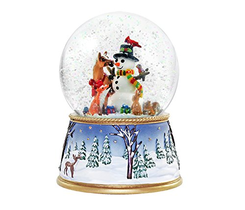 Breyer A Gathering on Friends Musical Snow Globe Ornament