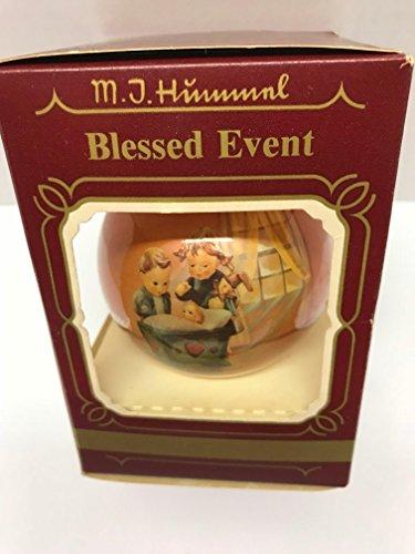 Hummel M.I Blessed Event Glass Ornament