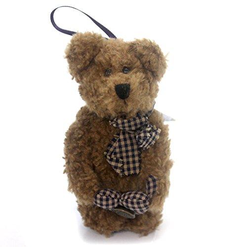 BOYDS BEARS PLUSH Billy BOB. W/Heart Pillow Fabric Teddy Bear Ornament 5620106