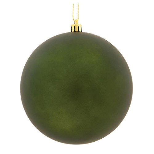 Vickerman 490365-3 Moss Green Matte Finish Ball Christmas Tree Ornament (32 pack) (N596864M)