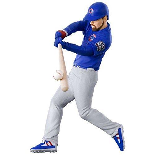 Hallmark 1995QXI1542 MLB Ben Zobrist 2016 World Series MVP Keepsake Christmas Ornaments