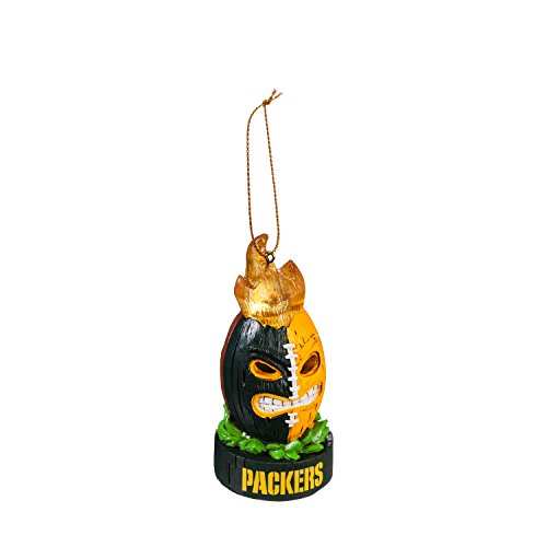 Team Sports America Green Bay Packers Lit Team Tiki Ball Ornament