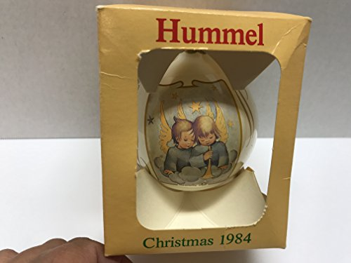 Berta Hummel Glass Ball Christmas 1984 Vintage Ornament