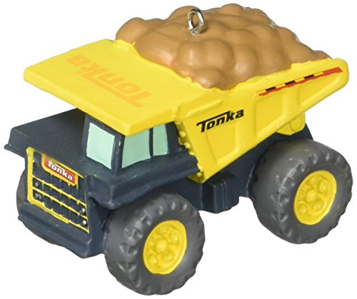 Hallmark Tonka Dump Truck Christmas Tree Ornament 2017