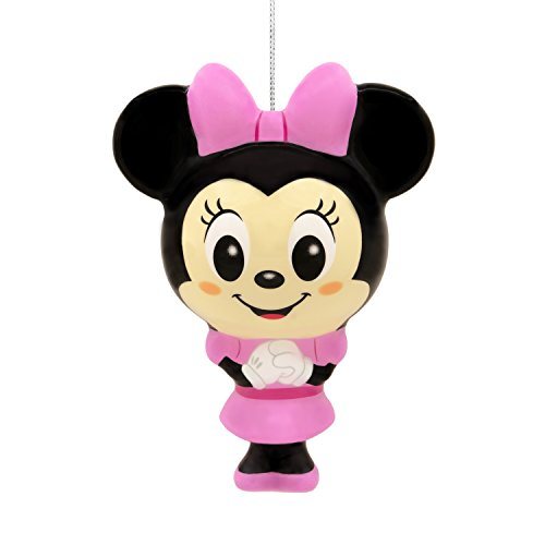 Hallmark Christmas Ornament Disney Minnie Mouse, Decoupage, Minnie (Shatterproof)