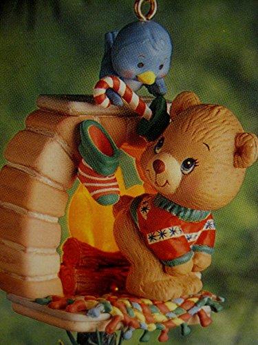 "Carlton Cards Heirloom Collection, Christmas Ornament, ""Warm 'N Toasty"""