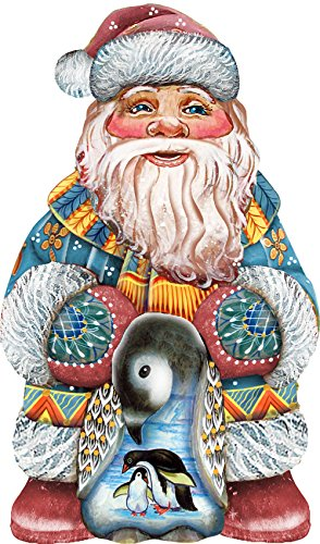 G. Debrekht Loving Embrace Santa Deco Ornament